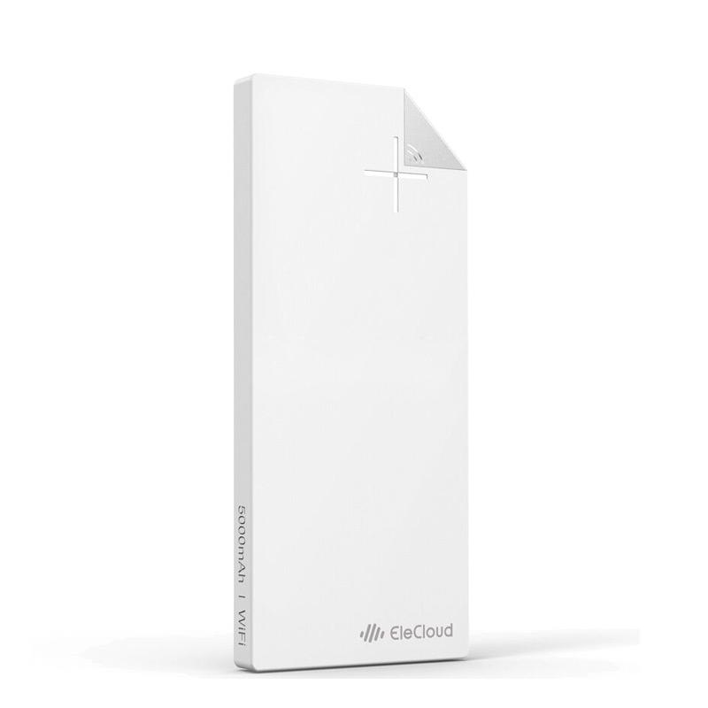 WIFI无线存储移动电源5000毫安 流云