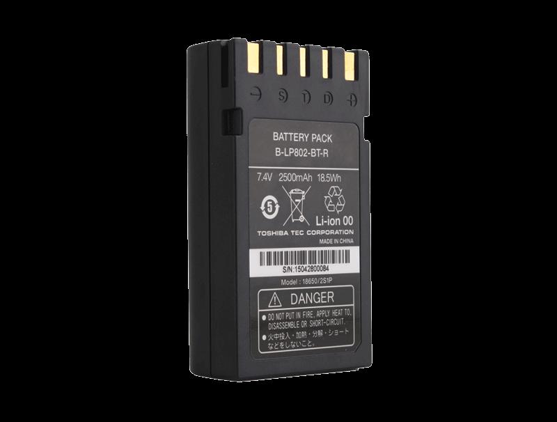 7.4V 2500mAh便携式打印机锂电池组
