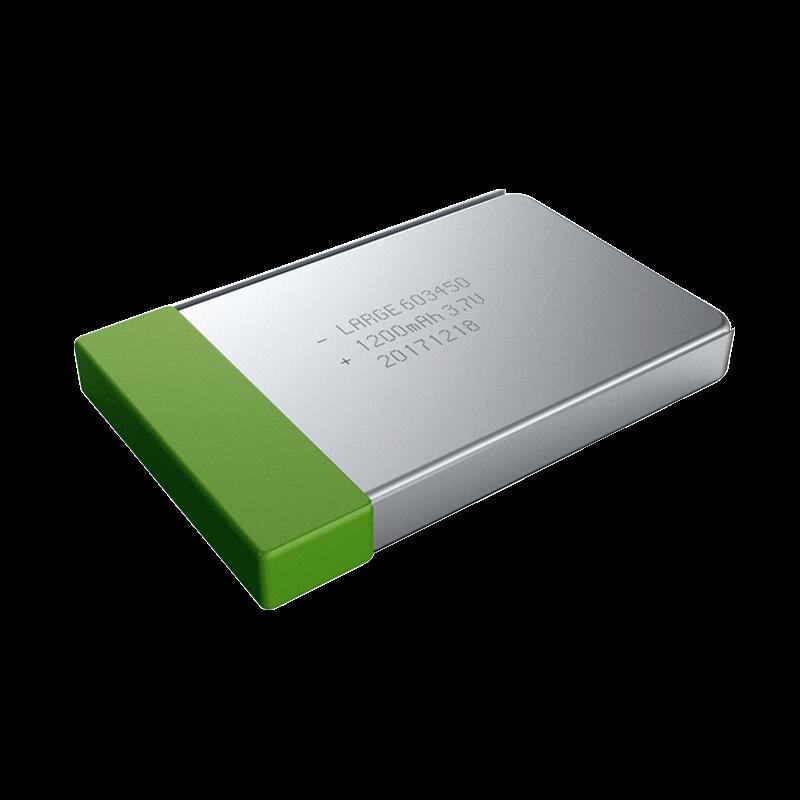 3.7V 1200mAh 航空测控低温聚合物锂电池