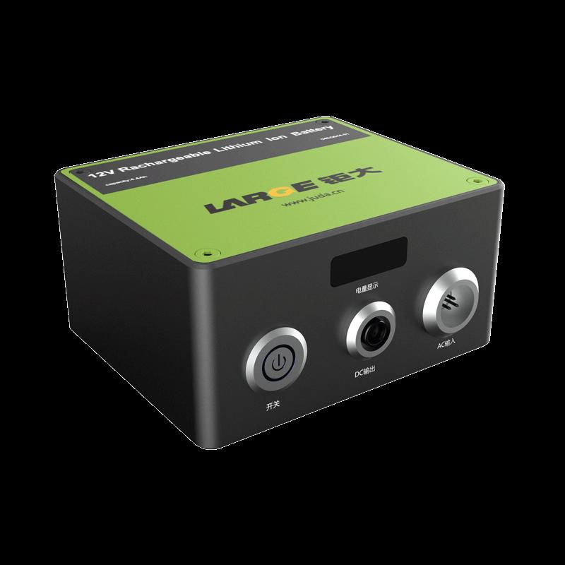 -40℃低温放电,12V 4400mAh 18650 钜大 加固电源储能锂电池