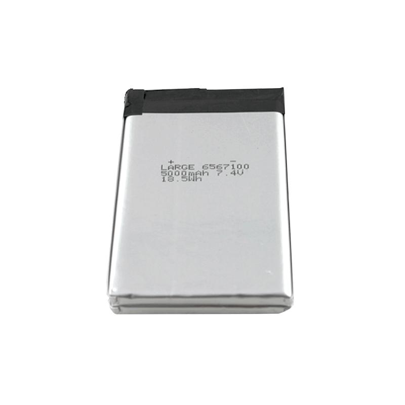 PL6567100 7.4V 5000mAh大容量聚合物锂离子电池组