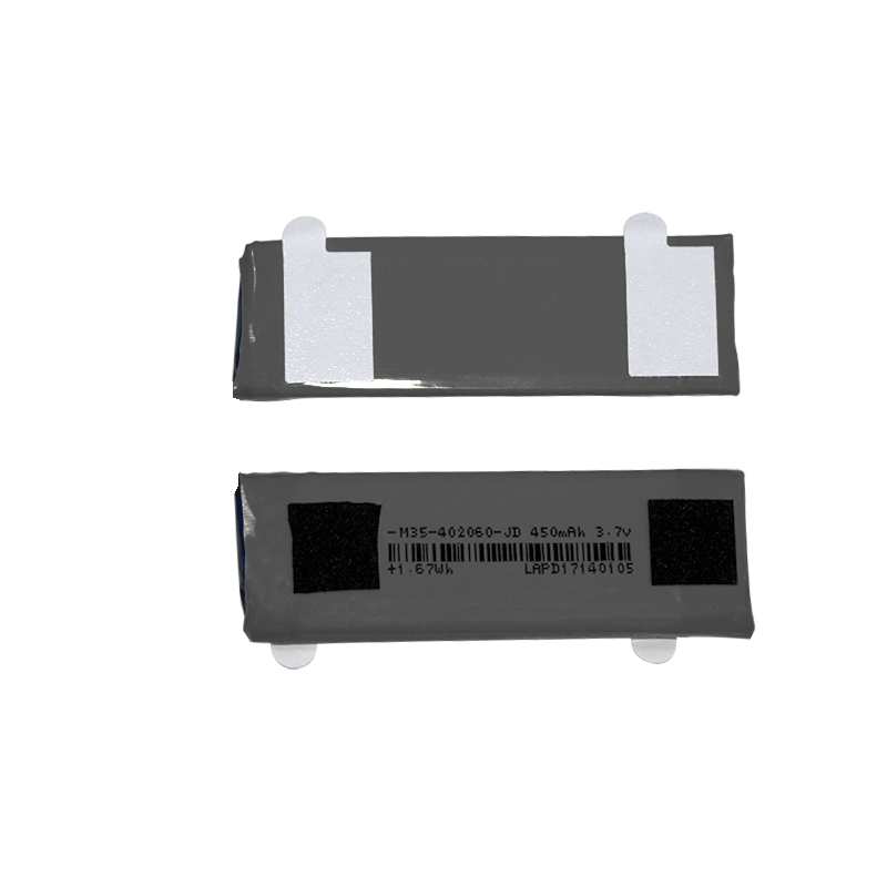 402060软包锂聚合物电池3.7V 450mAh