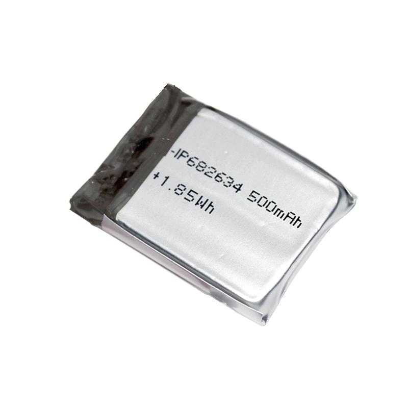 682634 3.7V 500mAh聚合物锂电池组