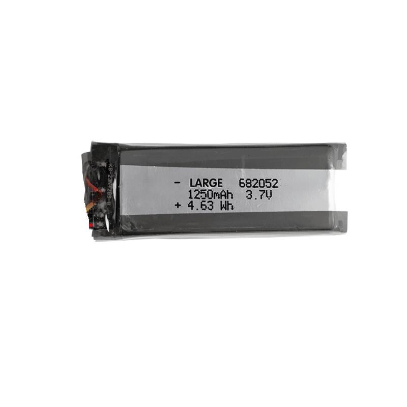 682052 3.7V 1250mAh软包聚合物锂离子电池