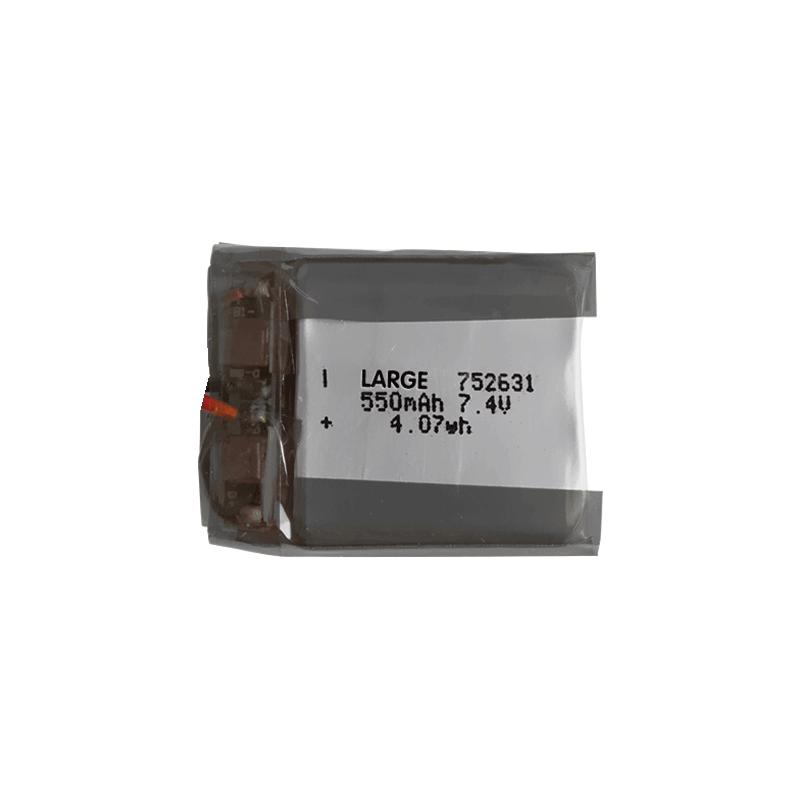 752631 7.4V 550mAh软包聚合物锂离子电池组