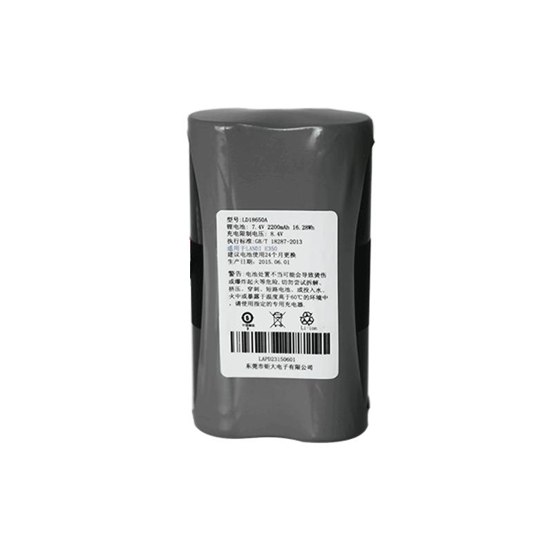 7.2V 2200mAh移动支付POS机锂电池组