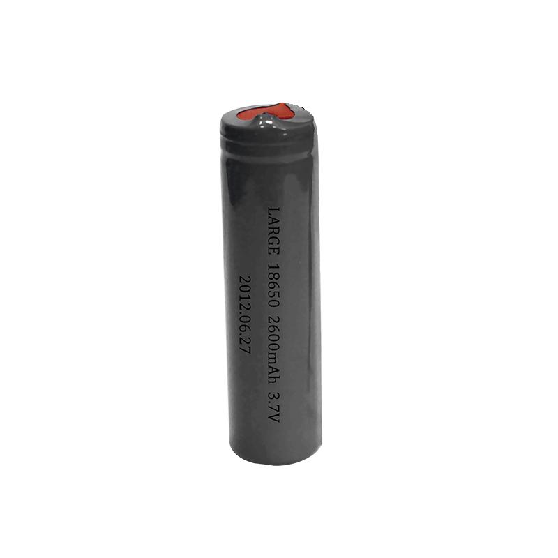 3.7V 2600mAh 18650红外强光求灯泡锂电池组