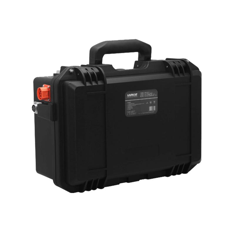 26650 51.2V 40Ah轨道探伤车动力锂电池组