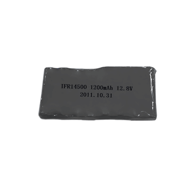 12.8V 1200mAh 14500喷雾机磷酸铁锂电池组