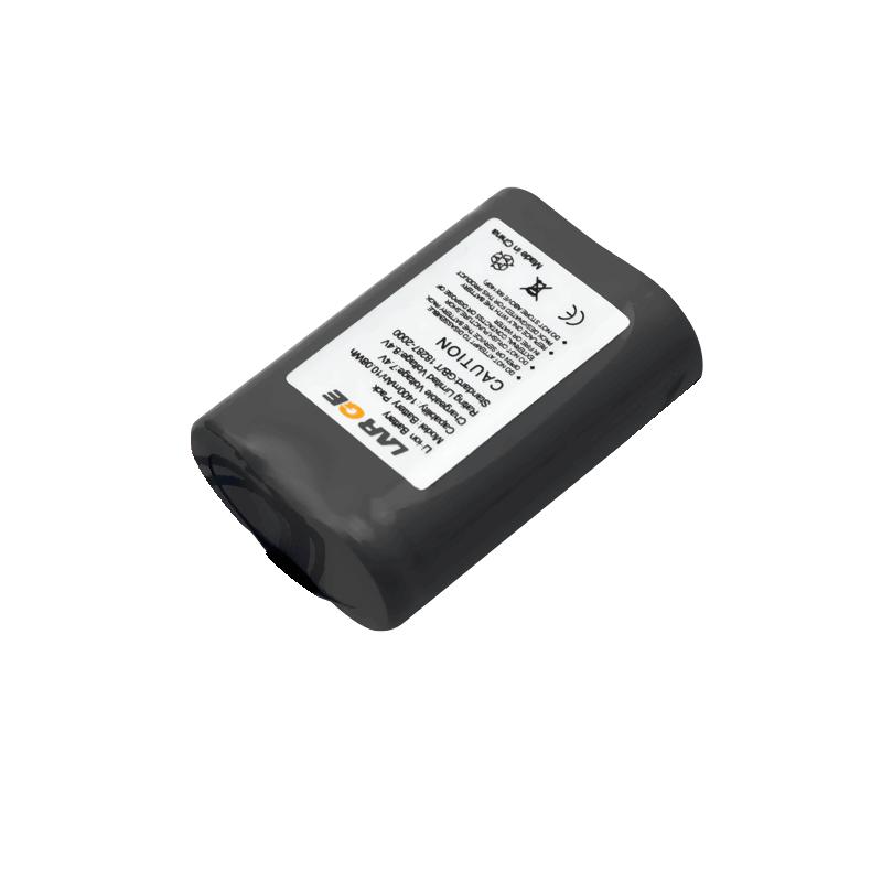 7.4V 1400mAh 18500锂电池组