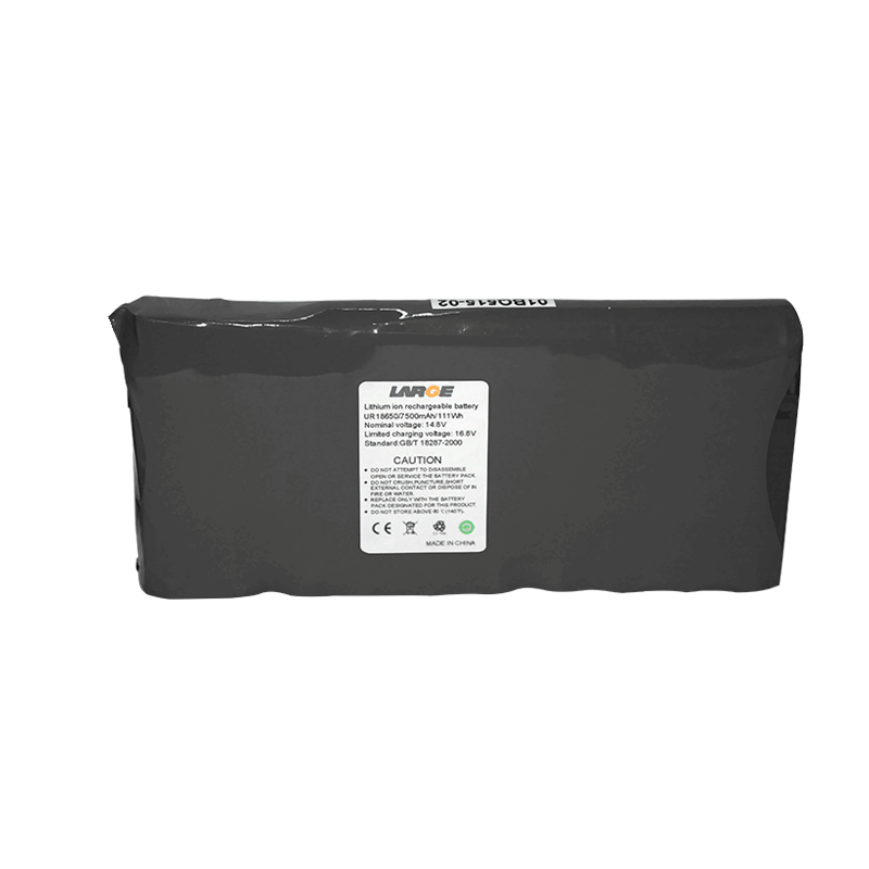 14.8V 7500mAh 18650机载监视设备锂电池组