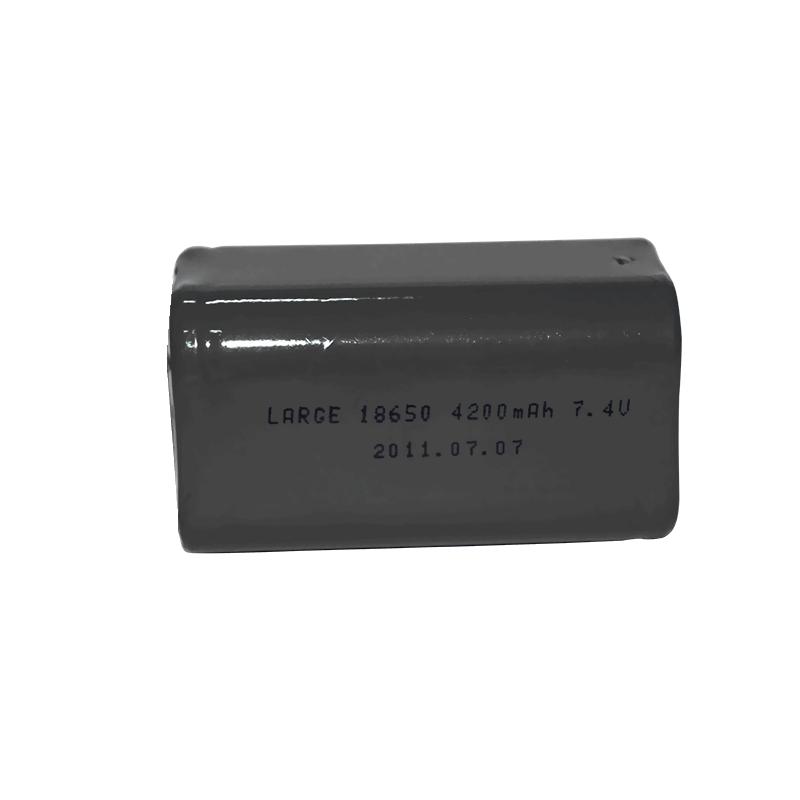 7.4V 4200mAh 18650锂电池组