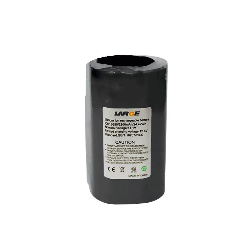 11.1V 2200mAh 18650锂电池组