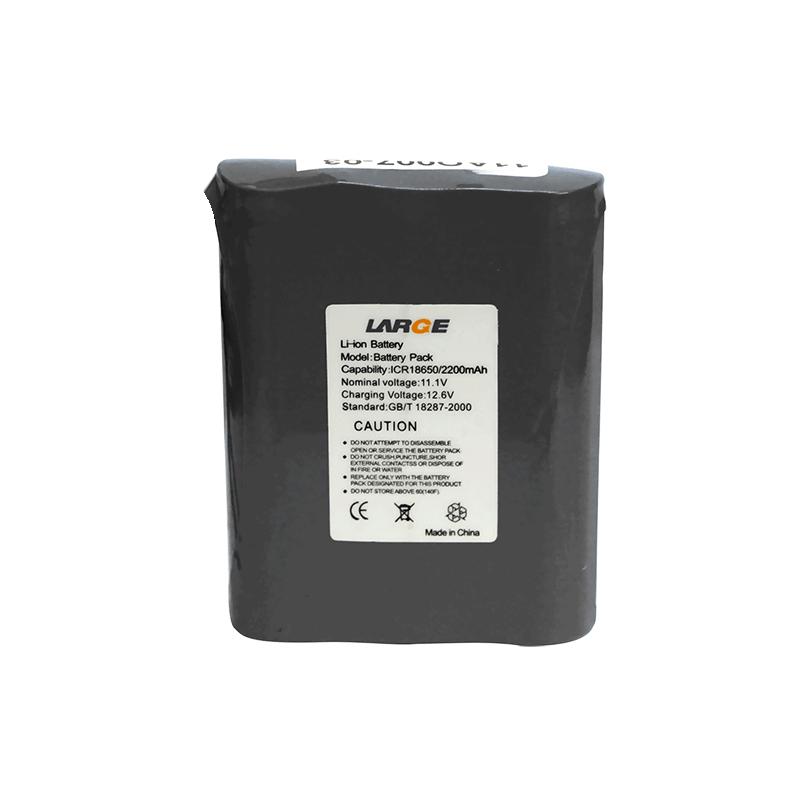 11.1V 2200mAh 18650呼吸机锂电池组