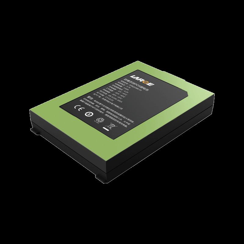 3.7V 3600mAh UF103450PN 防爆手持POS锂电池 钴酸锂材料