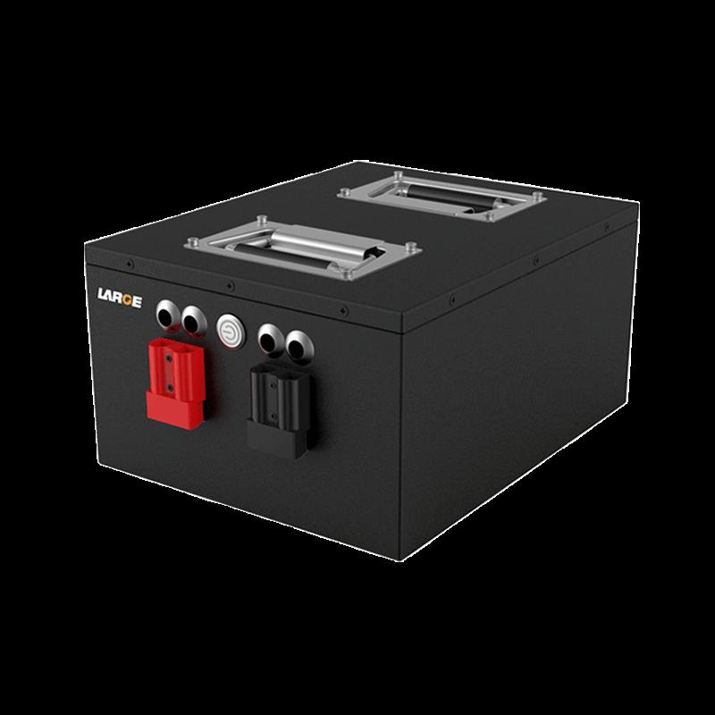 25.6V 60Ah 26650 AGV磷酸铁锂电池 RS485通信