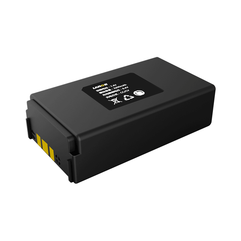 7.4V 2600mAh 18650 移动打印机锂电池,三元材料