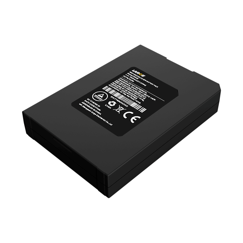 7.4V 2300mAh 555065聚合物锂电池,移动打印机锂电池