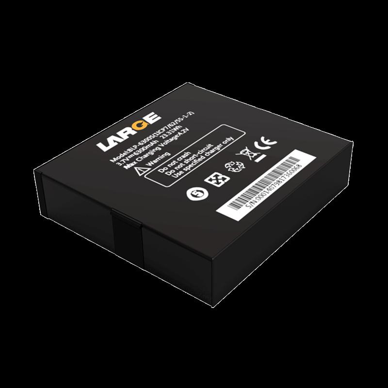 3.7V 6300mAh 666255 测绘仪聚合物锂电池