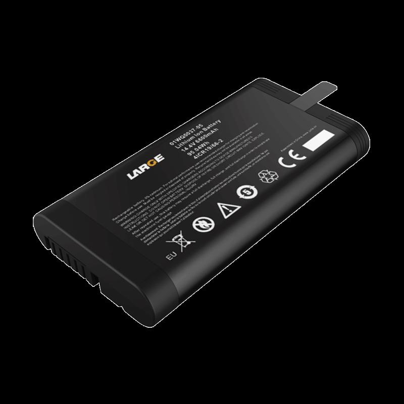 14.4v 6600mAh 18650 网络测试仪智能锂电池 SMBUS通讯