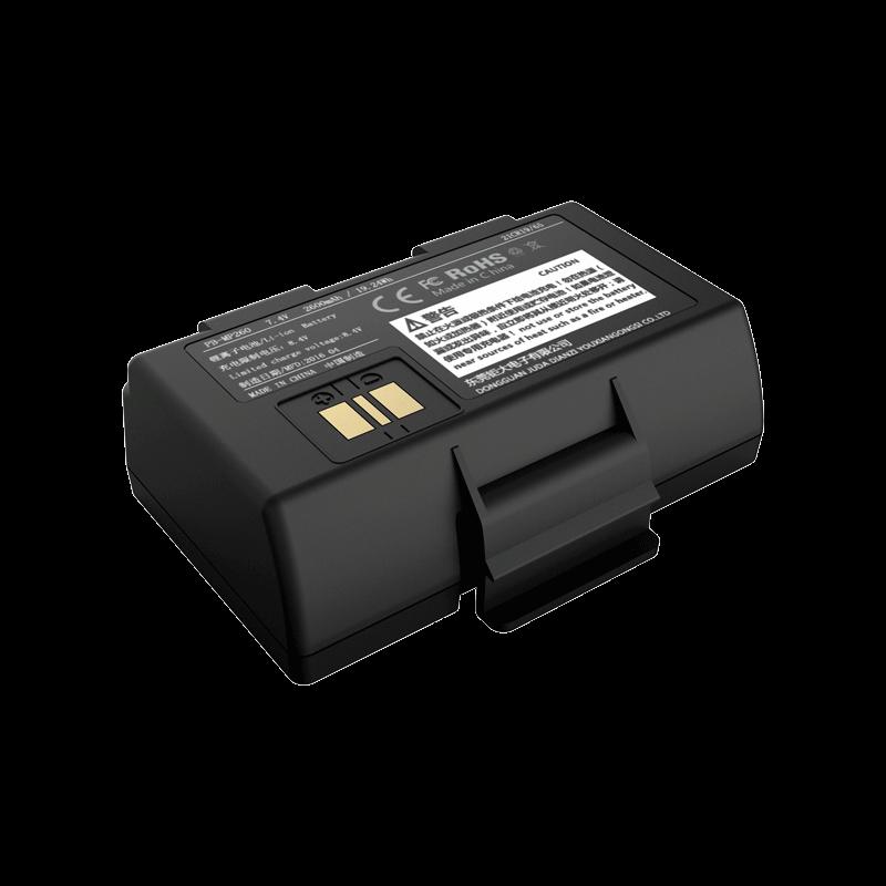 7.4V 2600mAh 18650 微型打印机锂电池