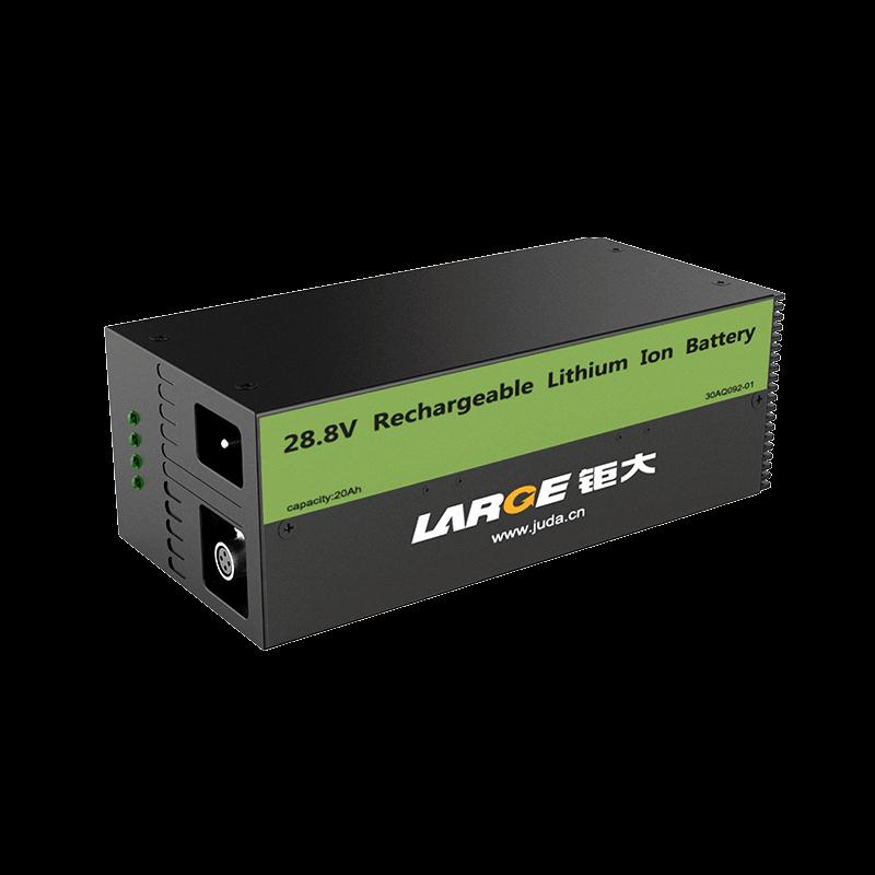 -20℃低温充放电,28.8V 20Ah L148F20C低温磷酸铁锂电池组,RS232和RS485通信