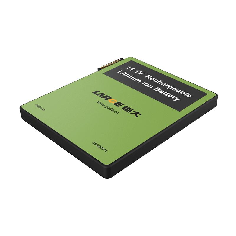 -40℃低温放电,11.1V 1800mAh 653370 航空无线控制器低温聚合物锂电池 SMBUS通讯
