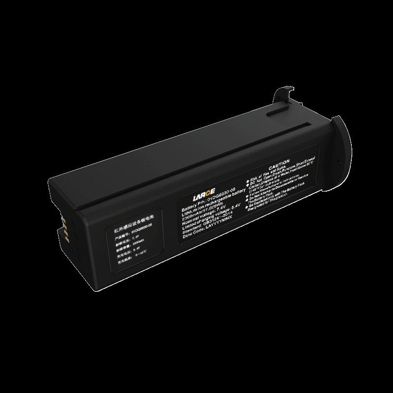 7.4V 2500mAh 552380 红外感应设备聚合物锂电池 I2C通讯