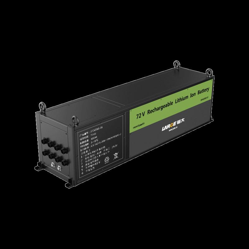 72V 300Ah宽温钛酸锂动力电池,观光小火车电池 Can通信管理